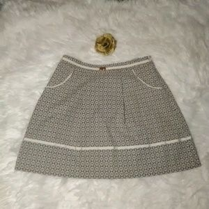 A-Line Buckle Upholstery Skirt by Gianni Bini
